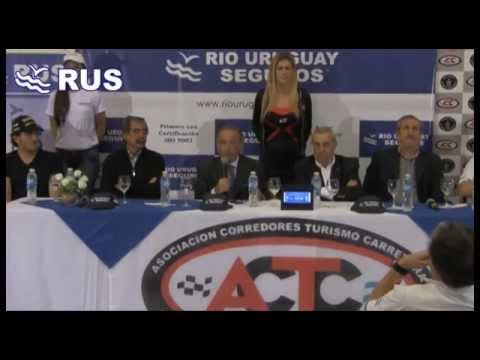 Conferencia de prensa lanzamiento del TC en Concepción del Uruguay