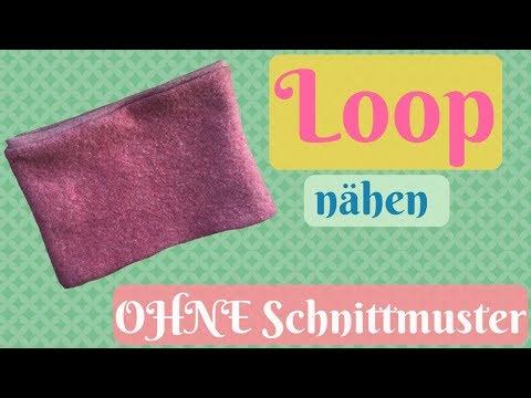 loop-schal-selber-nähen-ohne-schnittmuster-nähanleitung-für-anfänger