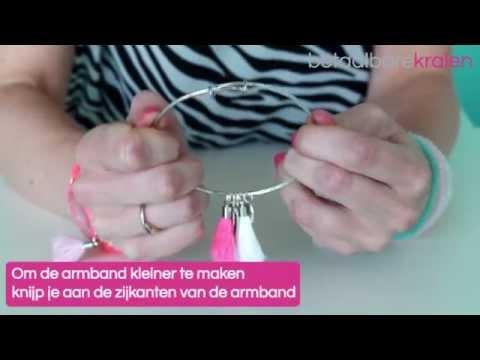 Sieraden maken: Hoe maakt u een Bangle bracelet? ♡ DIY