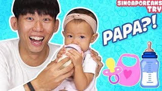 Singaporean (Guys) Try: Daddy Duties!