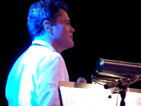 I'll Make a Man Out of You sung live by Donny Osmond