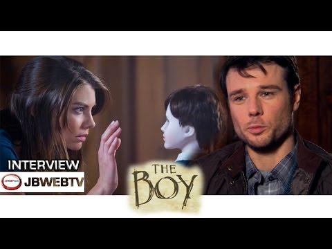 Rupert Evans Interview The Boy