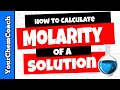 How to Calculate Molarity for a Solution