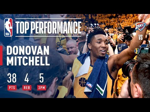Donovan Mitchell Says Take Note & Has Career Performance In Game 6