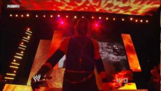Kane Entrance on WWE RAW 2011-12-26 720p