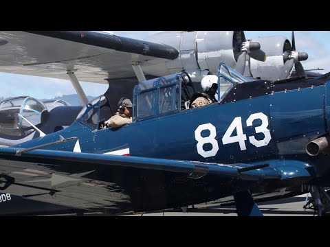 Jason Karlin, owner of a 1942 T-6 Warbird, displays his plane for the 75th anniversary of the end of WWll on Aug., 27, 2020 in Honolulu, Hawaii. This plane was used for training combat aviators during WWll before being deployed to an assigned aircraft. (U.S. Army video by Spc. Carlie Lopez)About U.S. Army: The Army Mission – our purpose – remains constant:  To deploy, fight and win our nation's wars by providing ready, prompt and sustained land dominance by Army forces across the full spectrum of conflict as part of the joint force.Connect with U.S. Army online: Web: https://www.army.mil Facebook: https://www.facebook.com/USarmy/ Twitter: https://twitter.com/USArmy Instagram: https://www.instagram.com/usarmy/ Flickr: https://www.flickr.com/photos/soldier...#USArmy