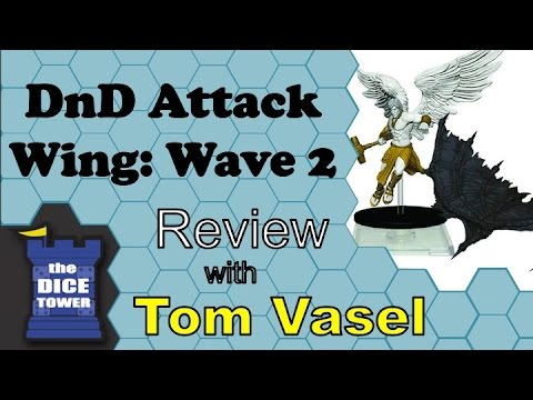 DnD Attack Wing Wave 2 Review - with Tom Vasel
