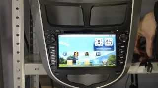Штатные головные устройства на андроид - Hyundai Solaris(Головные устройства на андроид - Hyundai Solaris., 2013-06-21T23:45:25.000Z)