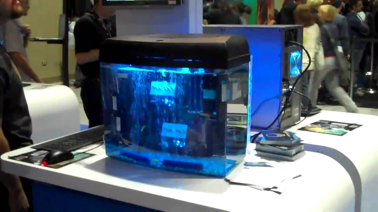 PAX 2010 The Fish Tank Computer YouTube