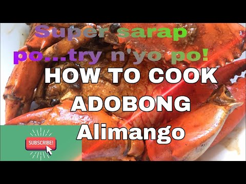 Cooking#9:  HOW TO COOK ADOBONG ALIMANGO (SUPER EASY And Yummy! )