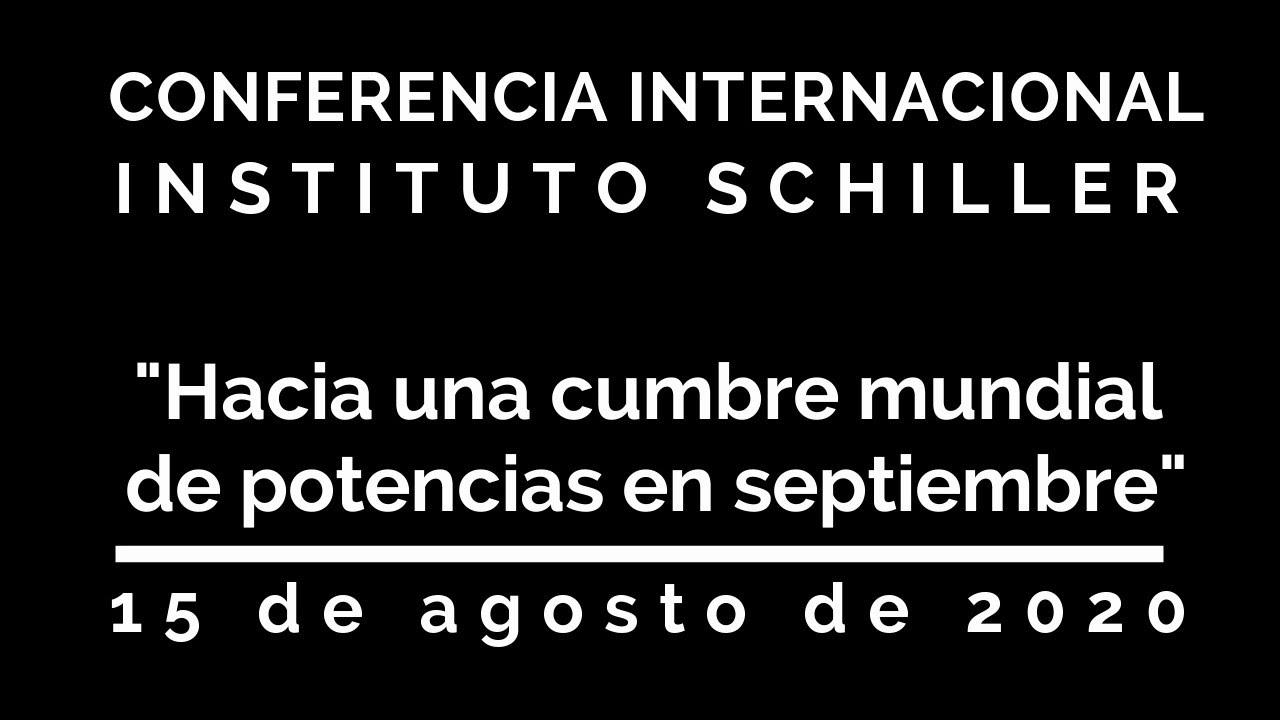 """Videoconferencia: """"Hacia una cumbre mundial de potencias en septiembre: El Plan LaRouche...&quo"""