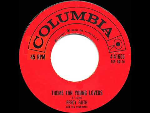 1960 HITS ARCHIVE: Theme For Young Lovers - Percy Faith