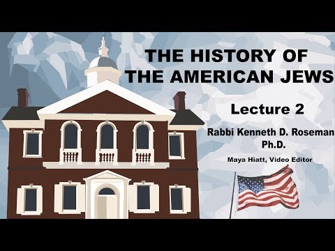 Lecture 2: The Colonial Experience