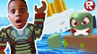 ESCAPE THE SHIP OBBY!! | Roblox