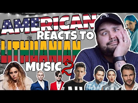 American REACTS // Lithuanian Music 2