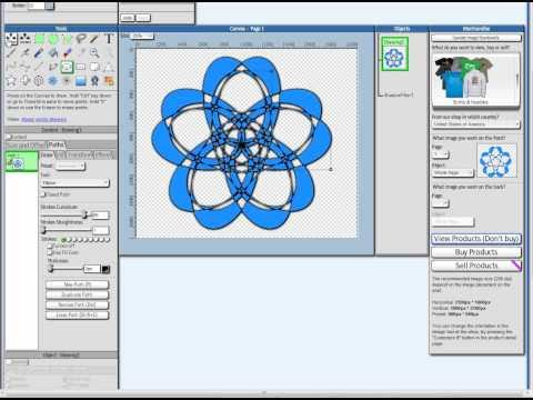 Tutorial vector drawing using a free online for Drawing program free online