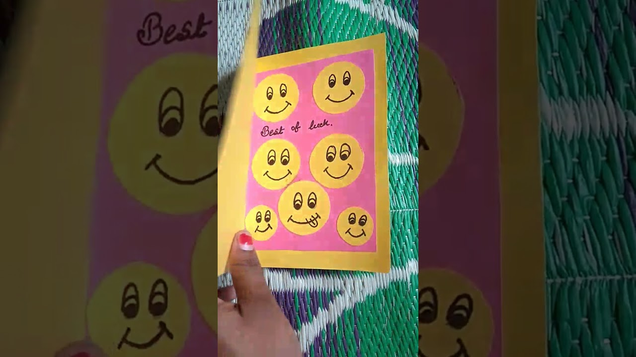 Best of luck card for exam youtube best of luck card for exam kristyandbryce Images