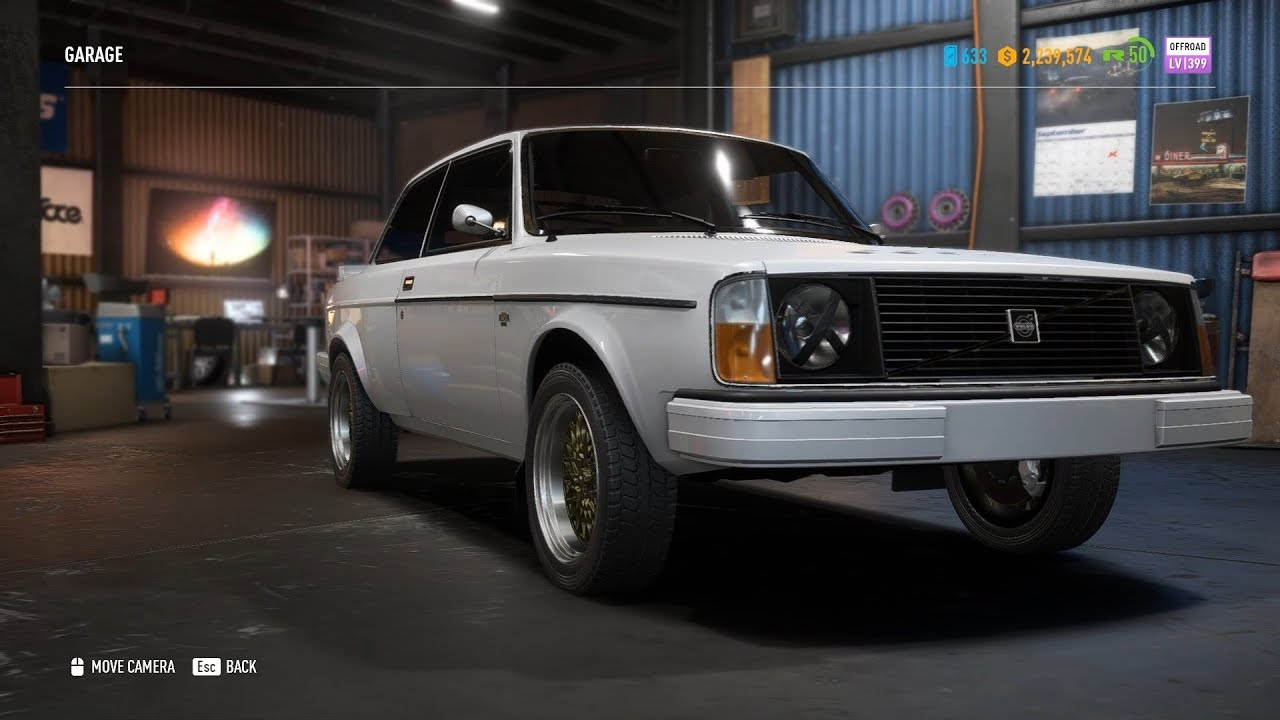 Need For Speed Payback - Volvo 242DL 760HP Rally Build ...