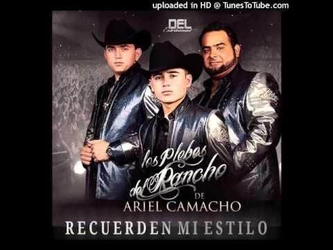 Los Plebes Del Rancho De Ariel Camacho  Tres Besitos Estudio 2016