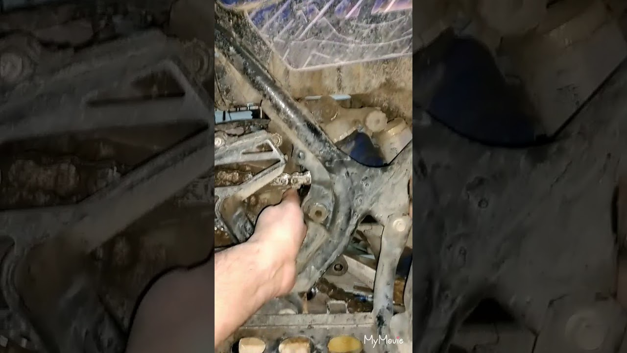 hight resolution of yamaha banshee chain slider install tips n tricks