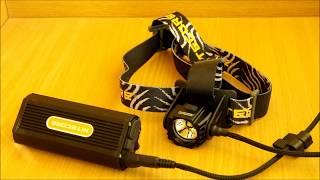 видео Налобный фонарь Nitecore EH1S (260 люмен)