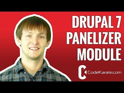 Drupal 7 Panelizer module - Daily Dose of Drupal episode 160