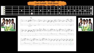 Bass - Cari Jodoh - Wali Band ( Tab Bass Cover )