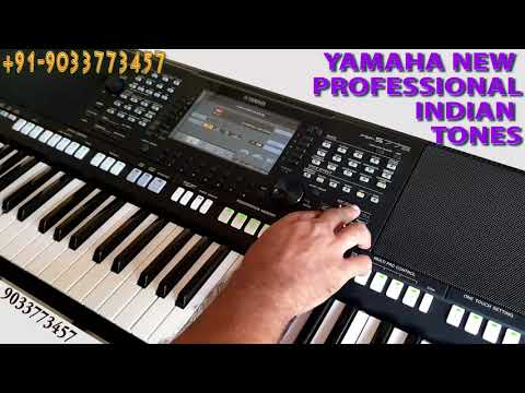 YAMAHA PSR S975 S775 S970 S770 NEW INDIAN BOLLYWOOD TONES EXPANSION