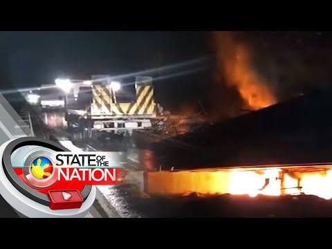 1 patay, 3 sugatan sa pagsabog ng oil tanker | SONA
