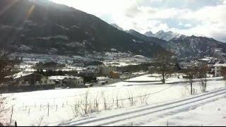 Aosta Sarre Italy Statale 26 ferrovia treno Aosta Pré Saint Didier LiveCam Live Cam Web Cam
