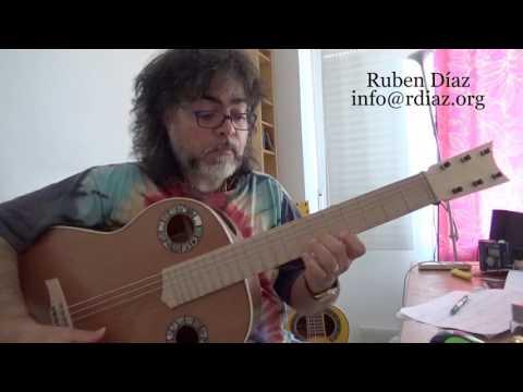 Manha de Carnaval Tutorial 1 learn it in Paco de Lucia´s Style /Ruben Diaz flamenco lessons Skype