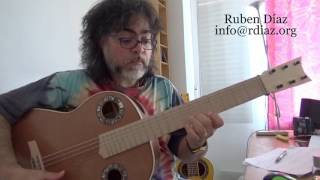Manha de Carnaval Tutorial 1 learn it in Paco de Lucia´s Style /Ruben Diaz flamenco lessons Skype
