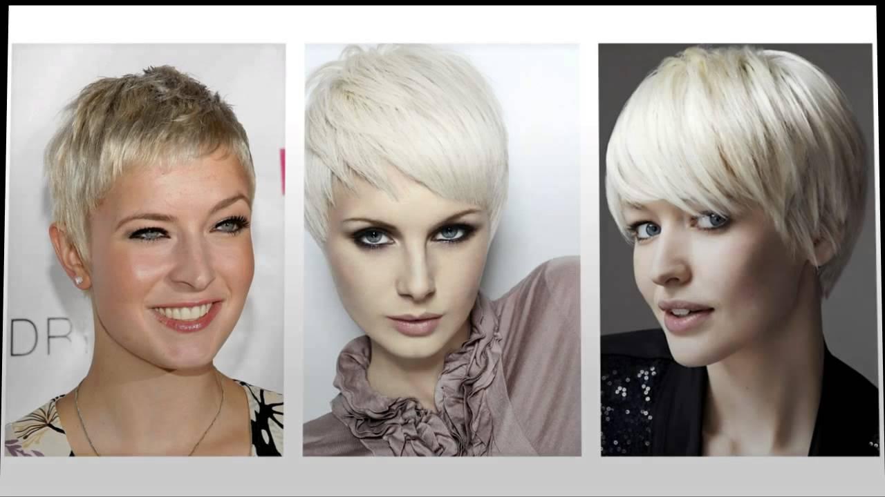 Favoriete Zeer korte kapsels dames - YouTube #SR96