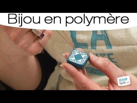 Comment faire un pendentif en p te fimo youtube - Comment faire un presentoire a bijoux ...