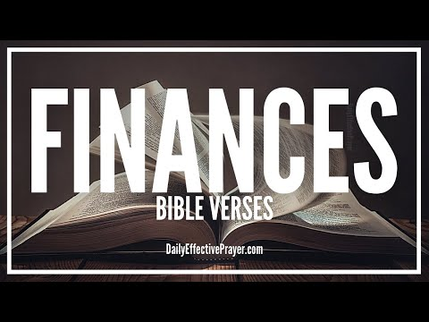 Bible Verses On Finances | Scriptures For Financial