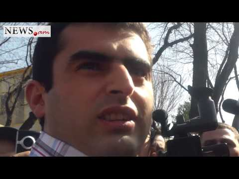 Armenian Activist Says Police Used Violence While Taking Him To Police Station