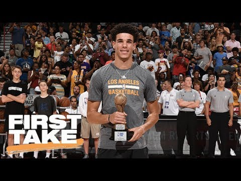 Lonzo Ball Made NBA Summer League Must-See TV | First Take | July 18, 2017