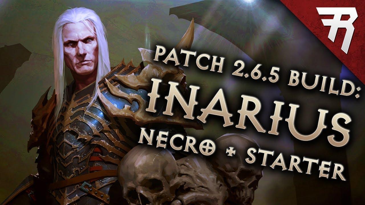 Diablo 3 Season 17 Necromancer Inarius Blood Nova & starter build guide -  Patch 2 6 5 (Torment 16)