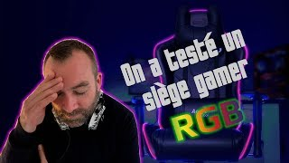 [Cowcot TV] Test siège Gamer AEROCOOL AC220 AIR RGB