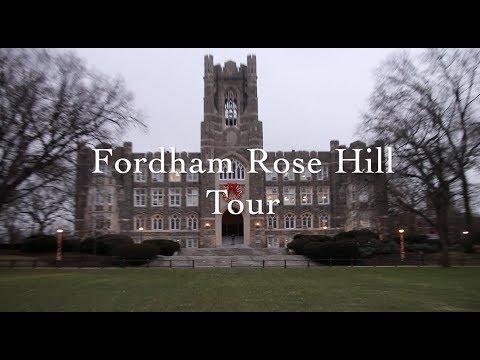 Fordham University Campus Tour: Rose Hill