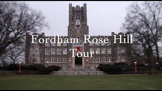Fordham University Campus Tour: Rose Hill