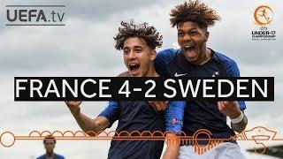 #U17 Highlights : France 4-2 Sweden