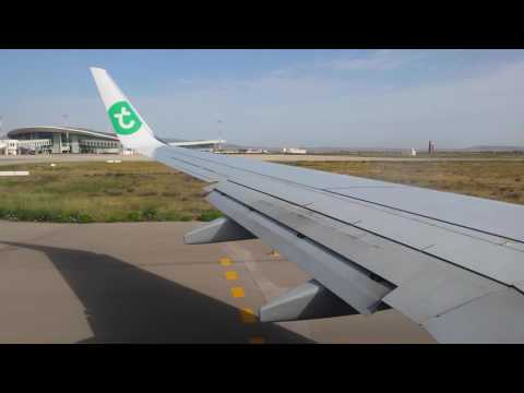 Oujda décollage avion d'Oujda vers Paris Orly 17/05/2016