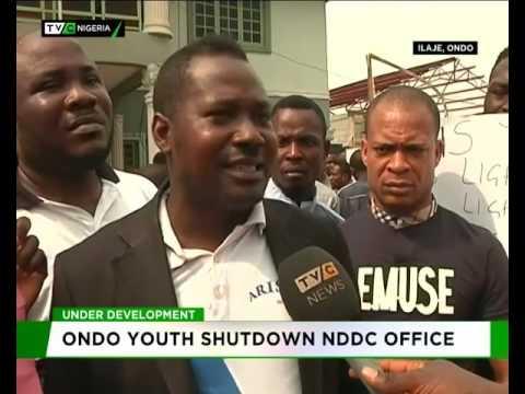 Underdevelopment : Ondo Youths Shutdown NDDC Office