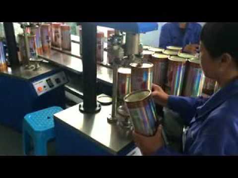 PAPER TUBE SEAMING MACHINE