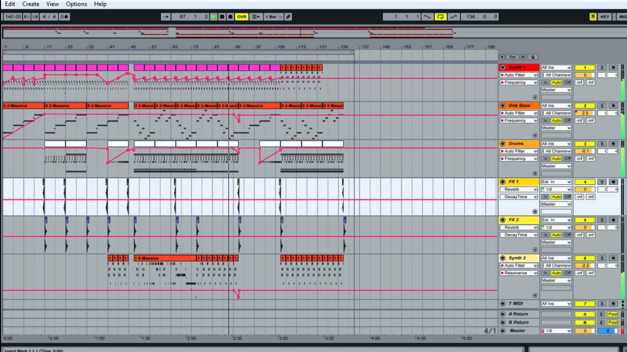 how to use ableton live 8