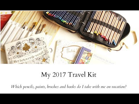 My 2017 Travel Kit - What I took with me on vacation to Switzerland