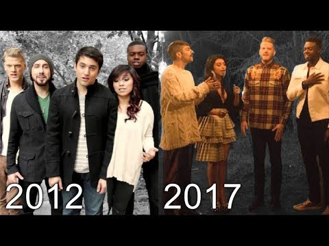 PENTATONIX - Christmas Music Evolution