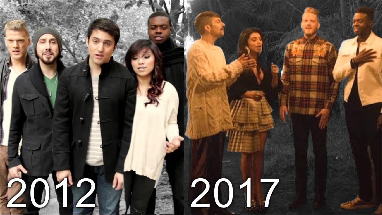 Pentatonix Christmas Youtube.Pentatonix Christmas Music Evolution