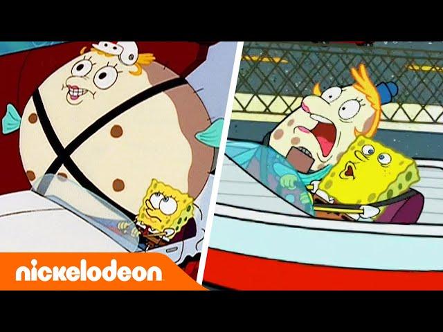 SpongeBob | A scuola guida dalla Signora Puff | Nickelodeon Italia